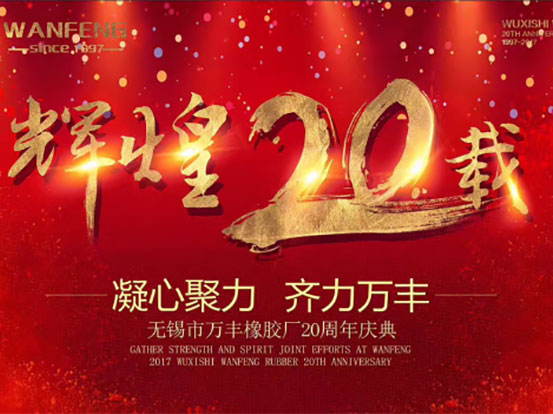 Wuxi Wanfeng 20th Anniversary Celebration